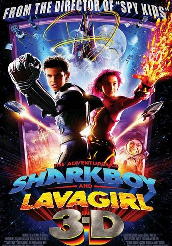 Picture for Adventures of Shark Boy and Lava Girl in 3-D